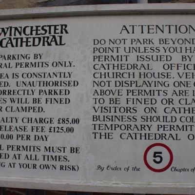 Inglaterra 2015 - 14/01 Winchester